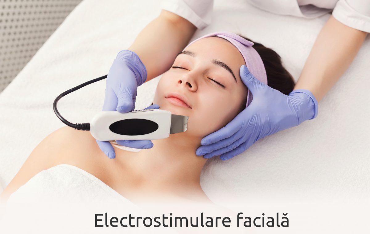 Imagini pentru electrostimulare faciala